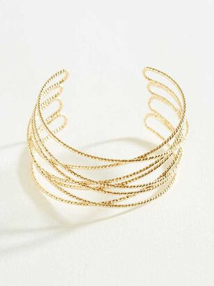 Wire Cuff Bracelet - Altar'd State
