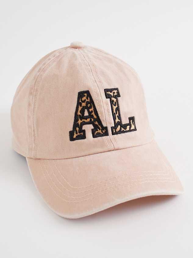 Alabama Leopard Baseball Hat - Altar'd State