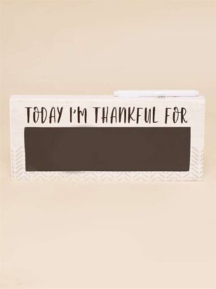 Thankful Chalkboard Sign - Altar'd State