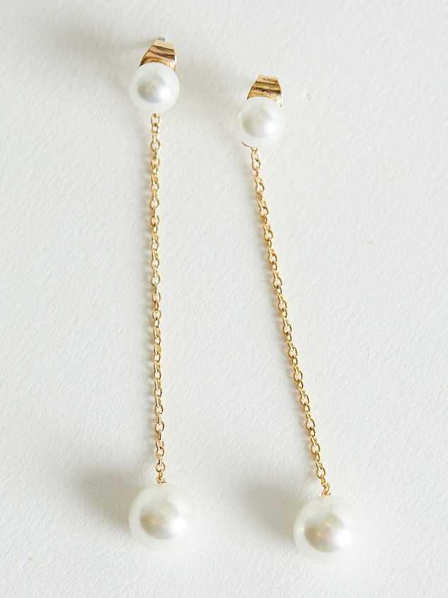 Pearl Drop Earrings - Altar'd State