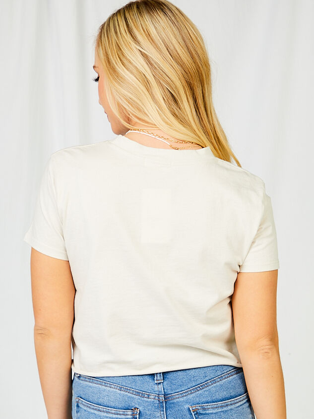 Rock Eagle Cropped Tee Detail 2 - Altar'd State
