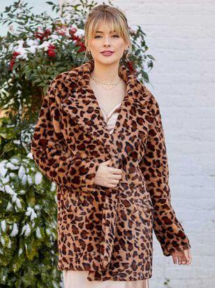 Leopard Fur Coat - Altar'd State