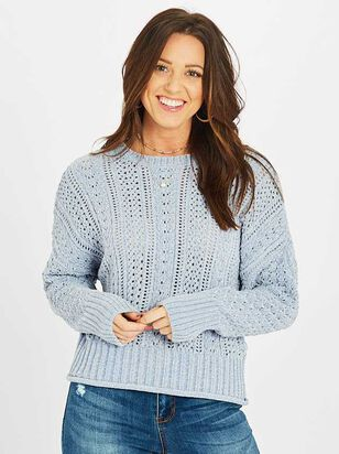 Florence Chenille Sweater - Altar'd State