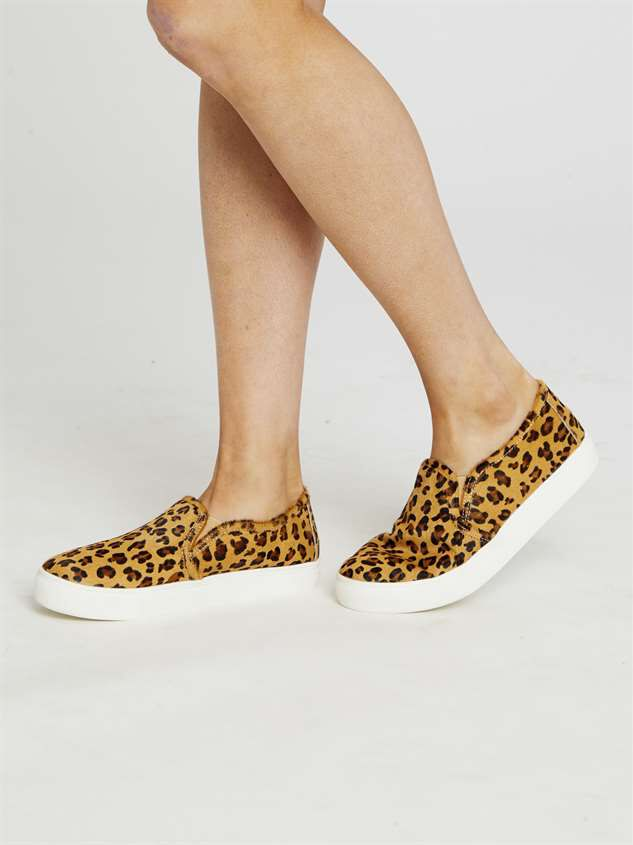 Calli Leopard Sneakers Detail 3 - Altar'd State