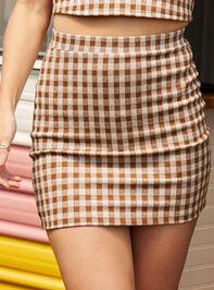 Get a Clue Skirt - Altar'd State