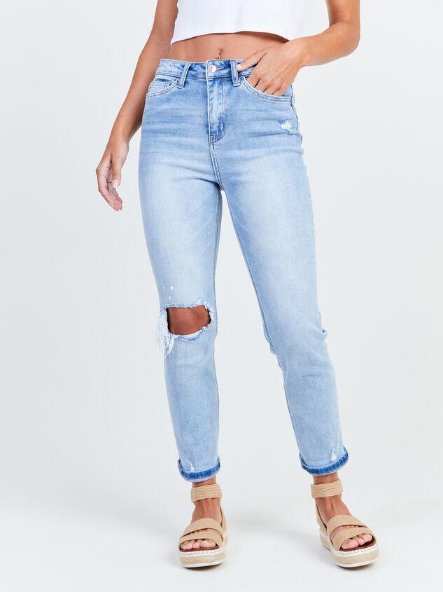 Novelty Mom Jeans Detail 2 - Altar'd State