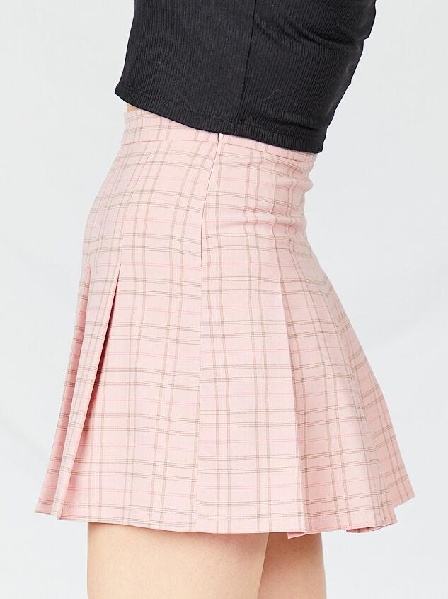 Dionne Plaid Skirt Detail 3 - Altar'd State