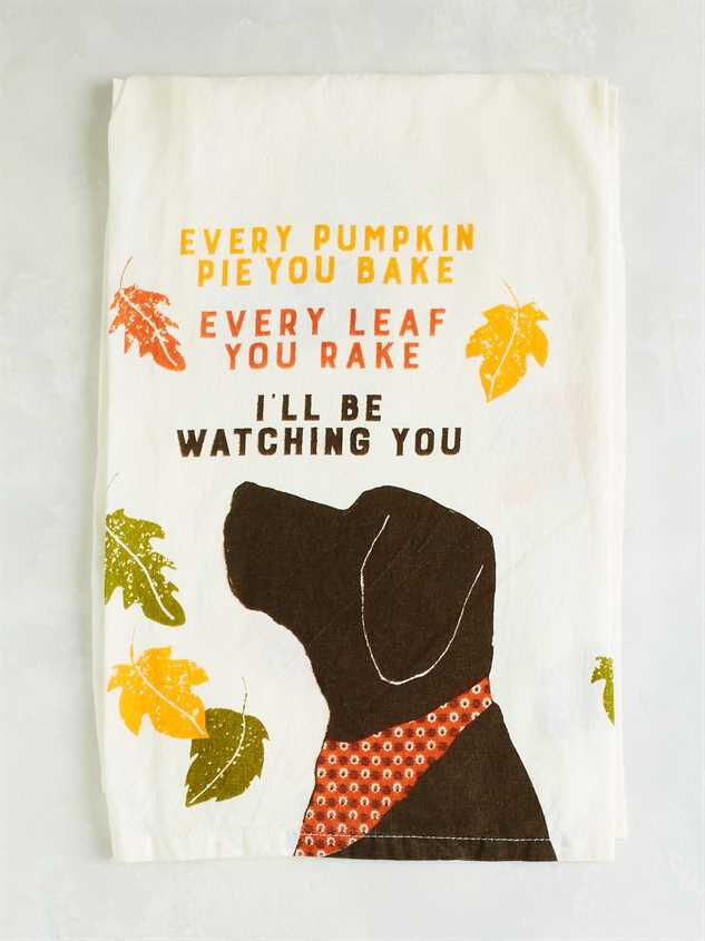 I'll Be Watching You Dish Towel - Altar'd State