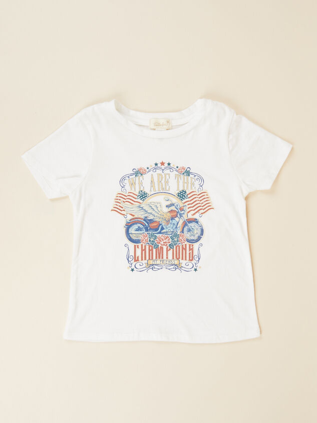 Tullabee We Are The Champions Tee - Altar'd State