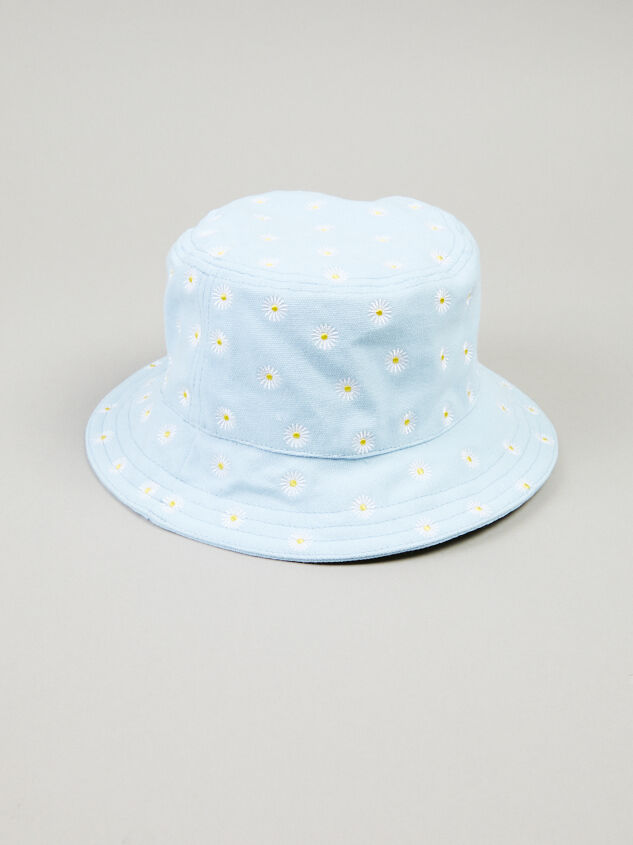 Daisy Bucket Hat Detail 2 - Altar'd State