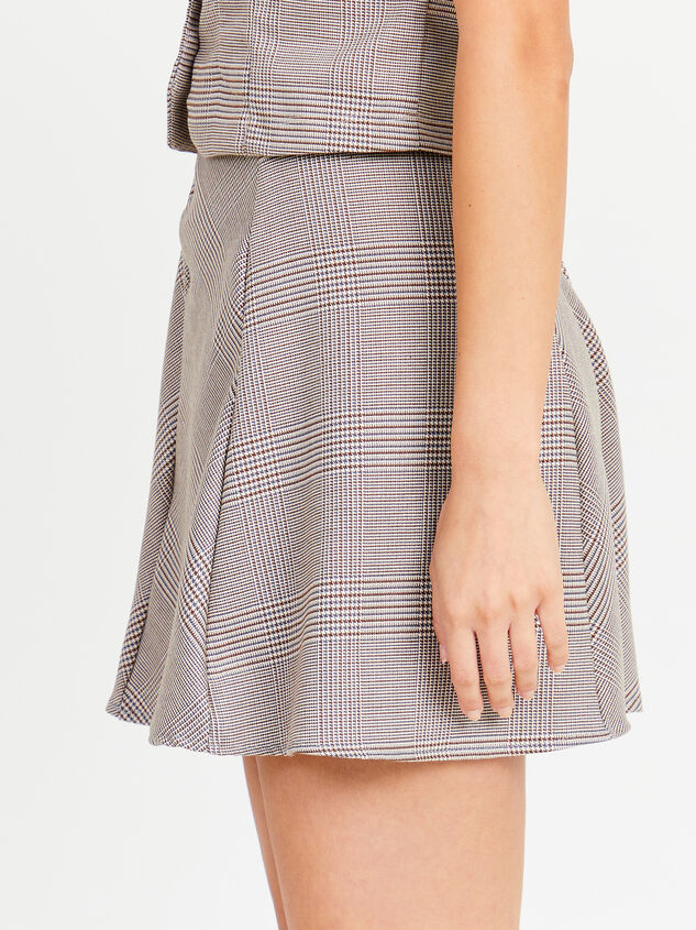 Eve Plaid Skirt Detail 3 - Altar'd State