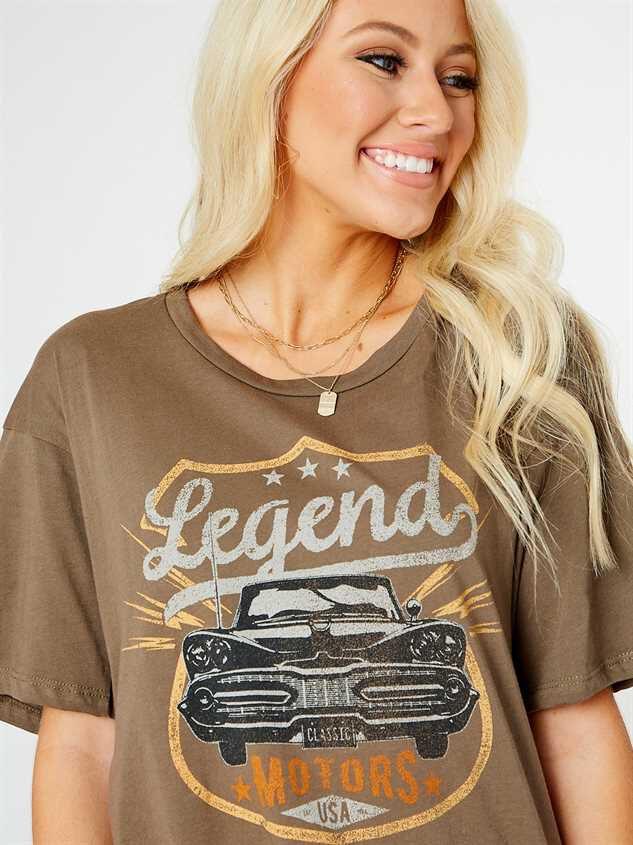 Legend Motors Oversized Top - Altar'd State