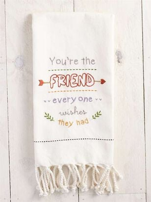 You're the Friend Hand Towel - Altar'd State