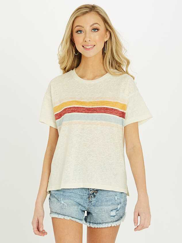 The Retro Stripe Tee - Altar'd State