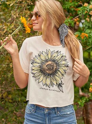Choose Kindness Sunflower Top - Altar'd State
