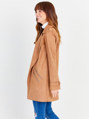 Bryce Faux Suede Jacket - Altar'd State