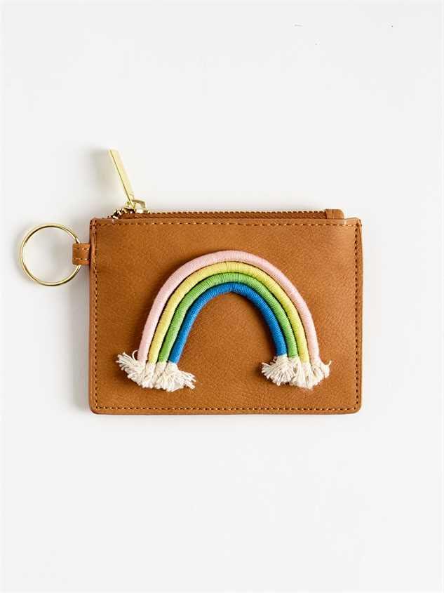 Good Vibes Rainbow Keychain - Altar'd State