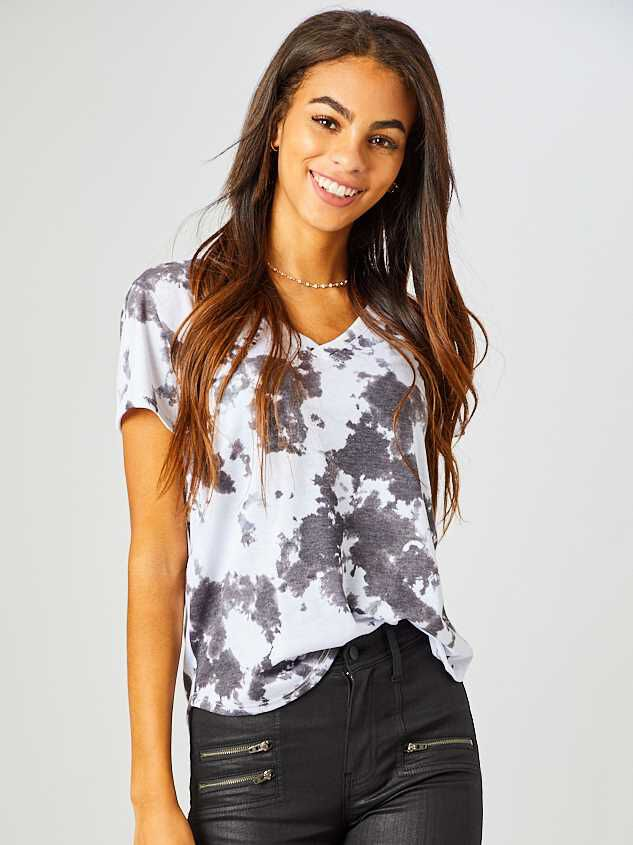 Cloudy Night Tie Dye Top - Altar'd State