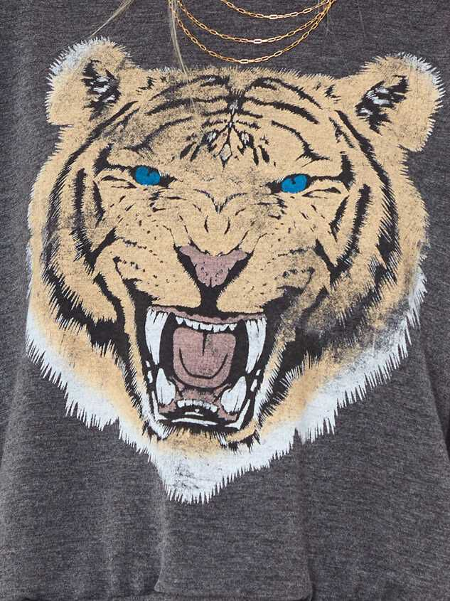 Growling Tiger Pullover Top Detail 4 - Altar'd State