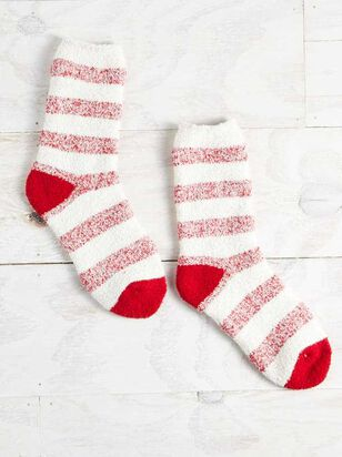 Cozy Striped Socks - Altar'd State