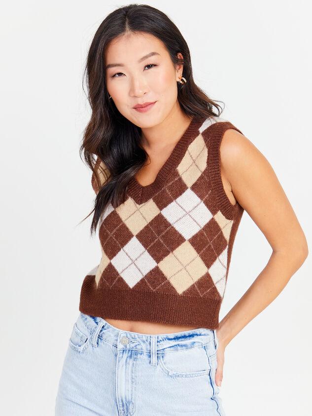 Varsity Sweater Vest - Altar'd State