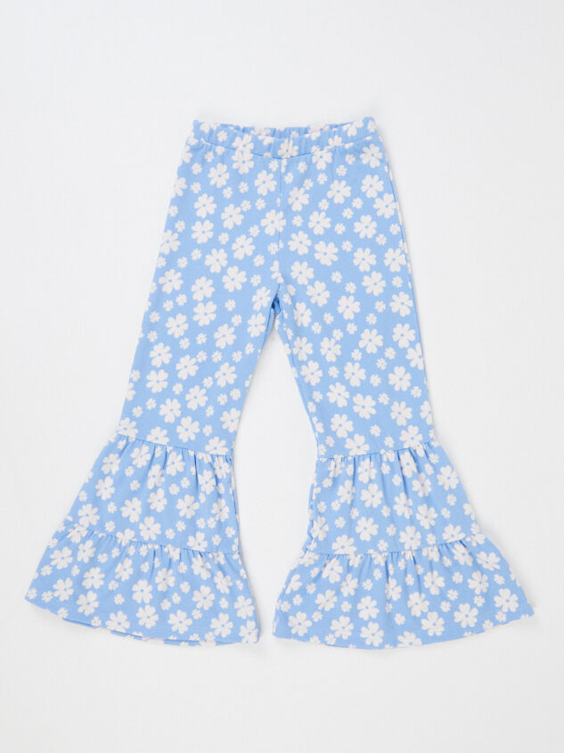 Tullabee Floral Flare Pants Detail 2 - Altar'd State