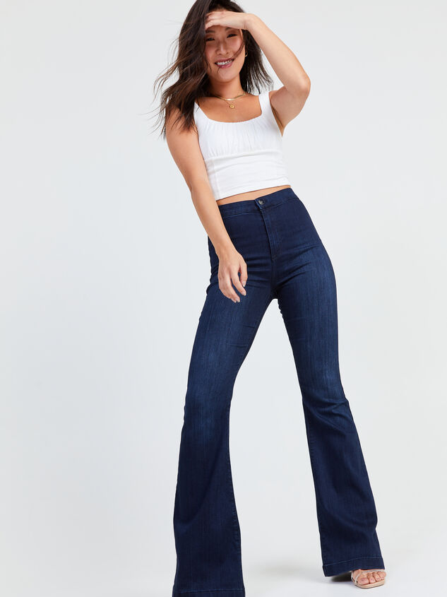Bexley Flare Jeans Detail 1 - Altar'd State