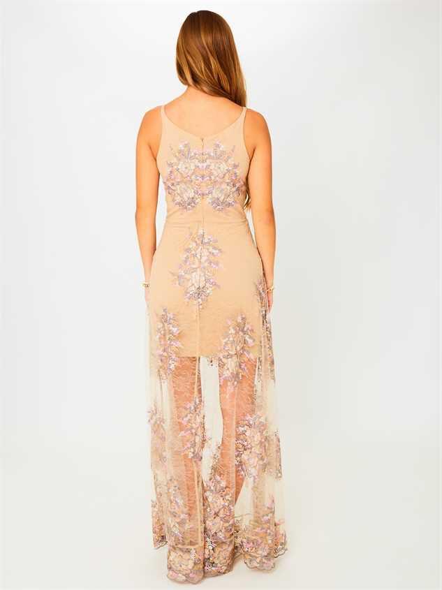 Angelique Maxi Dress Detail 3 - Altar'd State