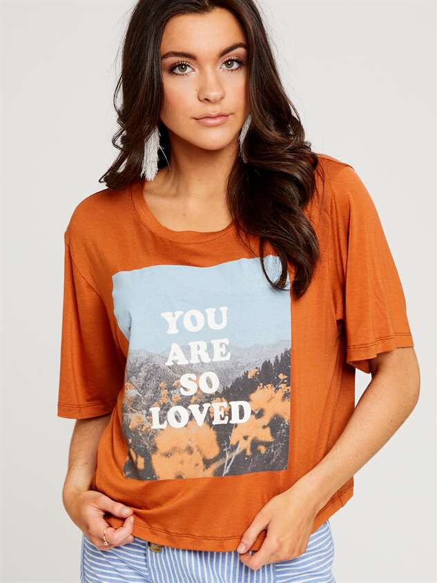 You are Loved Top - Altar'd State