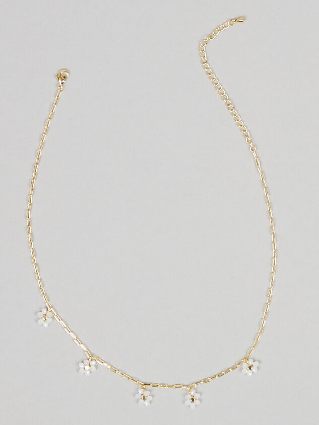 Dainty Flower Necklace - Altar'd State