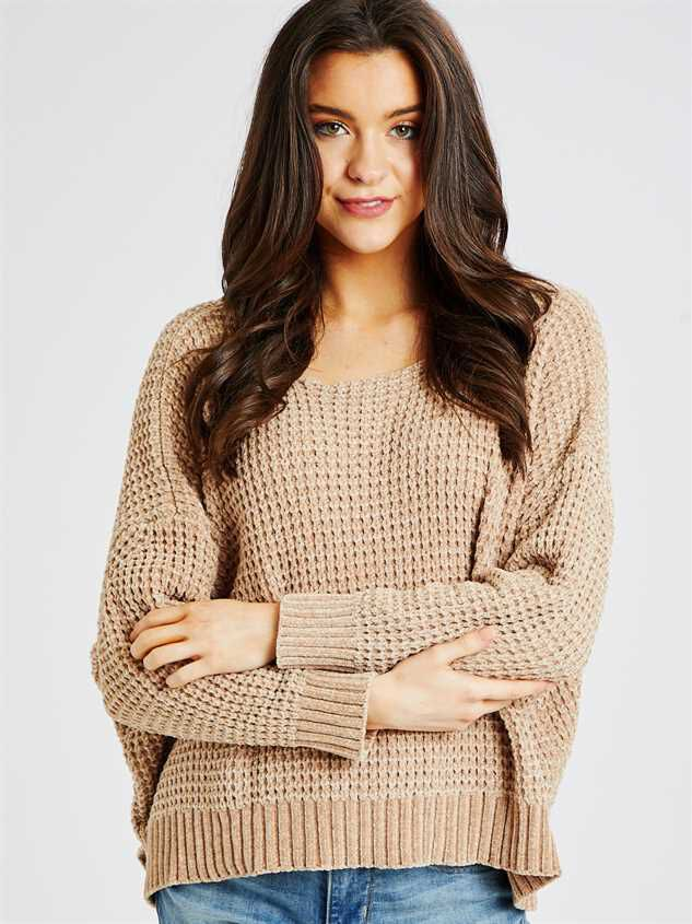 Eversoft Chenille Dolman Sweater - Altar'd State