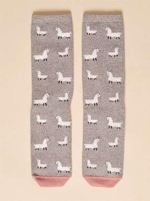 Llama Crew Socks - Altar'd State