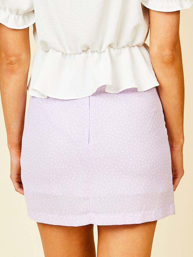 Martha Mini Skirt Detail 2 - Altar'd State
