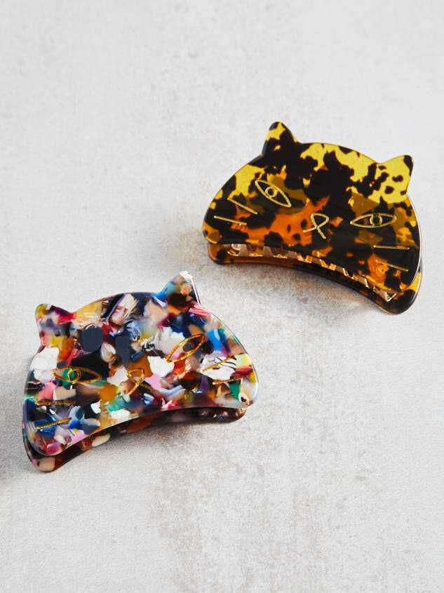 Acetate Cat Claw Clips by Altar'd State