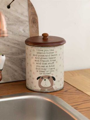I Love You Like Peanut Butter Dog Treat Jar - Altar'd State