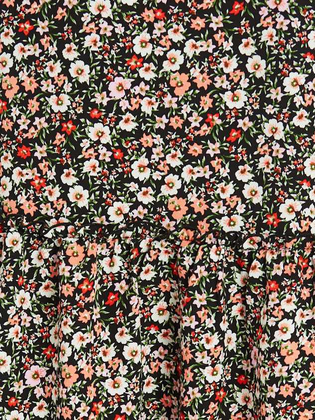 Blossoming Maxi Skirt Detail 5 - Altar'd State