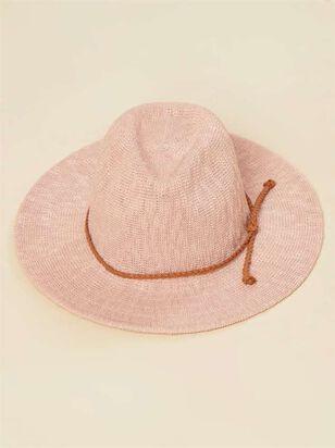 Panama Hat - Blush - Altar'd State