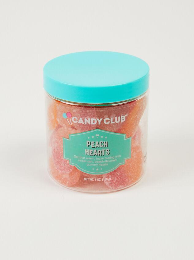 Candy Club Peach Hearts Detail 2 - Altar'd State