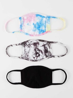 Tie Dye Face Mask Set - 3 Pack - Altar'd State