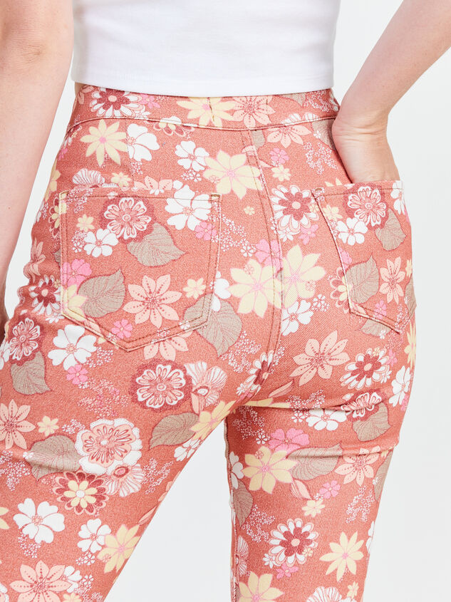 Cindy Retro Flare Jeans Detail 5 - Altar'd State