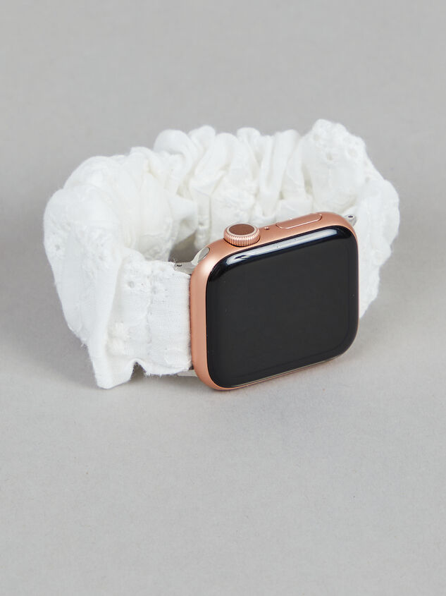 Eyelet Scrunchie Smart Watch Band - Altar'd State