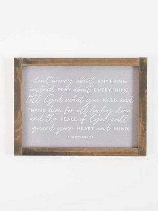 Pray Wall Art - Altar'd State