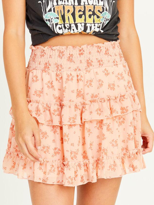 Peachy Skirt Detail 1 - Altar'd State