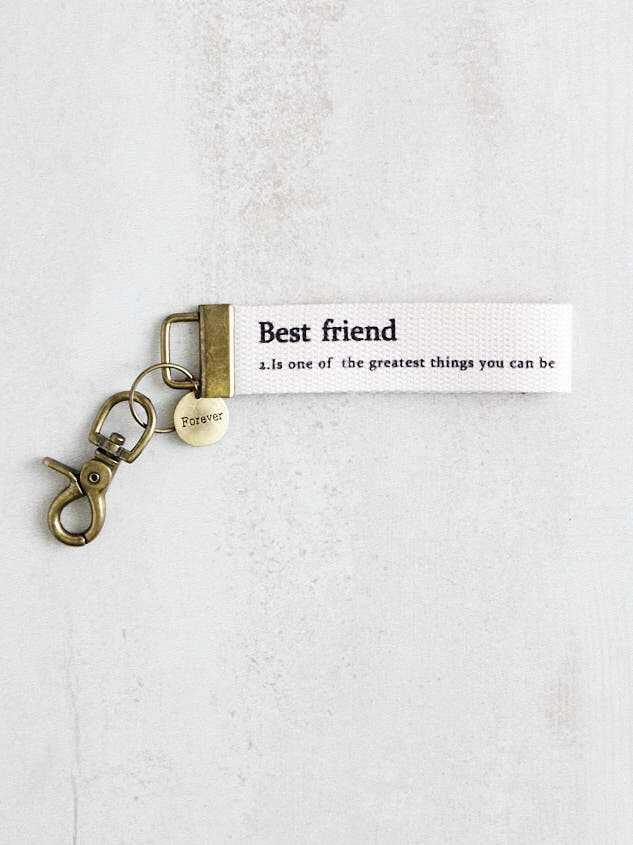 Best Friend Keychain Detail 2 - Altar'd State