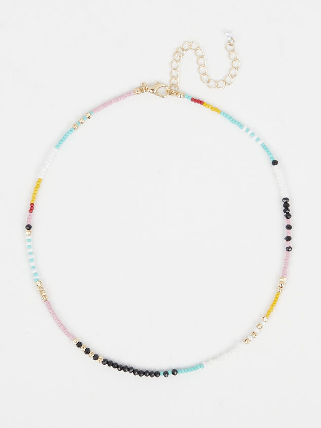 Sunny Days Beaded Necklace - Altar'd State
