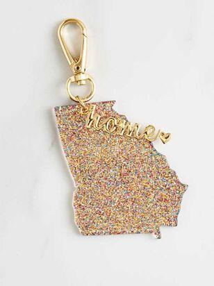 Home Glitter Keychain - Georgia - Altar'd State