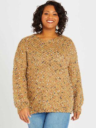Cozy Confetti Sweater - Altar'd State