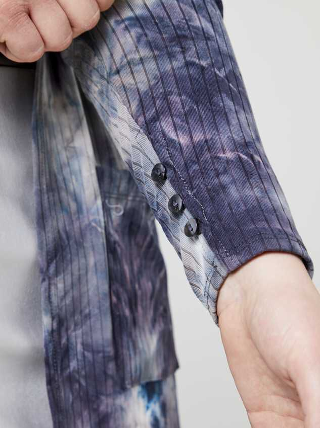 Deia Tie Dye Cardigan Detail 4 - Altar'd State