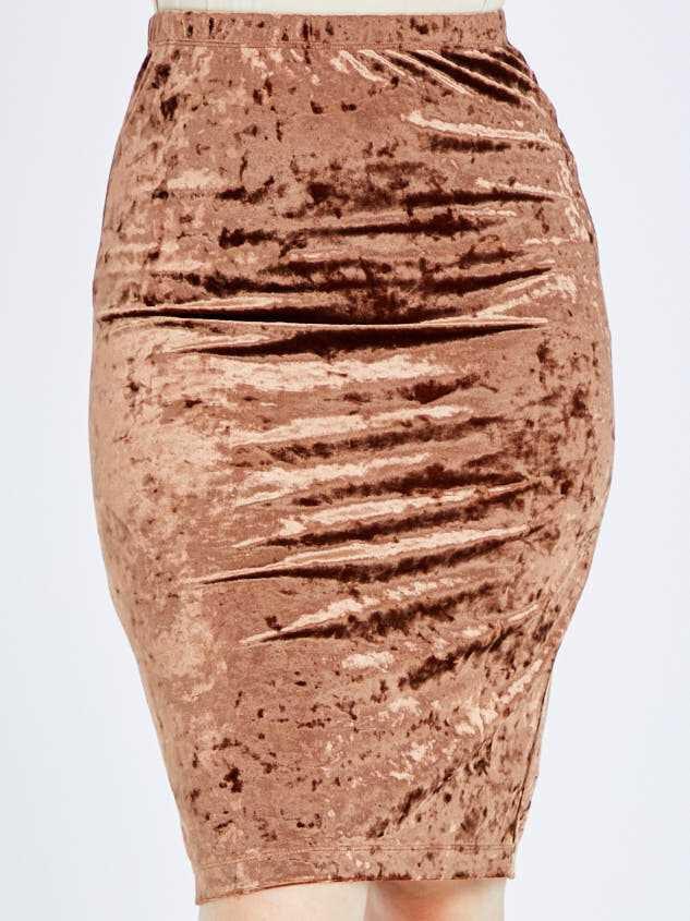 Nadine Midi Skirt Detail 2 - Altar'd State