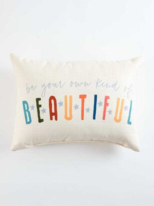 Your Own Kind of Beautiful Pillow - Altar'd State